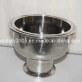 "6 "" X2 "" Sanitary Tri-Clamp Bowl Reducer 3A für Food Medical Industry"