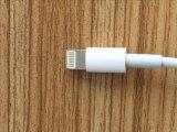 Van Cellphone De Kabel van de Lader van de Lijn van usb- Gegevens voor iPhone, Mobiele Telefoon