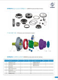 L$signora Hydraulic Motor Parts Made di Poclain in Cina