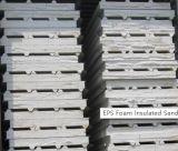 El panel de emparedado aislado espuma de la pared del EPS