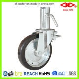 160mm Double Ball Bearings Scaffolding Caster Wheel (C150-11F160X45S)
