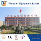 Prensa de filtro auto de desecación del equipo del lodo de Dazhang