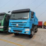 Sinotruk 세 배 차축 HOWO 광업 팁 주는 사람 쓰레기꾼 또는 Dumptruck 또는 덤프 트럭