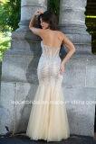 Vestido de noite E15629 do partido da ilusão do querido do vestido do baile de finalistas dos cristais