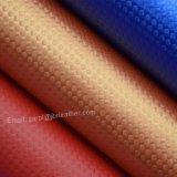 藤によって編まれる人工的なパターンPUの革、袋の革