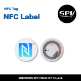 Etiqueta de papel auta-adhesivo Ntag213 ISO14443A de Nfc