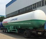 Reboque do petroleiro de Cbm LPG do reboque 52 do petroleiro dos eixos de ASME 3