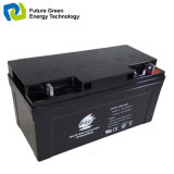 12V65ah SLA VRLA AGM gedichtete Energien-Batterie für Haus