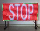 Double DEL signe variable dégrossi électronique extérieur de message des VMs, panneau d'affichage de circulation de DEL
