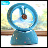 Air Humidifier Cooler Fan Mini USB ajustável Difusor de ar Aroma Mist Maker