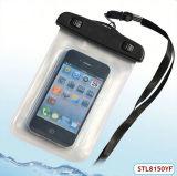 Sac imperméable à l'eau de poche de PVC de cadeau promotionnel pour l'iPhone 4 4s 5