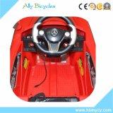 RC de elektrische Rit van de Baby van de Jonge geitjes van het Stuk speelgoed op Rood Benz van de Auto
