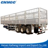 Sale caliente 3axle Fence Stake Semi Trailer China Best Warehouse Storage Goods Trailer