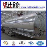 42000L tri de l'essieu 5454 d'aluminium de réservoir de carburant remorque semi
