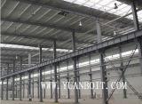 Estructura del marco de acero de construcción Ingeniería Taller Almacén de