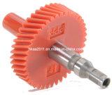Engrenagens da movimentação de aço da transmissão do velocímetro da contagem da motocicleta