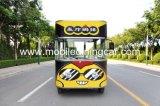 Caminhão móvel de quatro rodas do alimento da boa qualidade para a venda