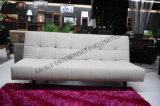 Белая кровать софы PVC самомоднейшая
