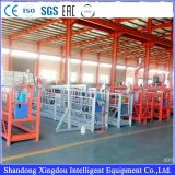 Grosse angestrichene Stahlschweißens-Aufbau-Gondel des Formular-Zlp1000 China