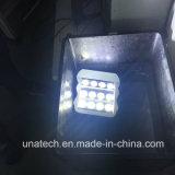 Iluminação ao ar livre solar do ponto do diodo emissor de luz do quadro de avisos