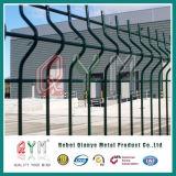 Высокое качество гальванизировало сваренную загородку ячеистой сети загородки ячеистой сети покрынную PVC сваренную