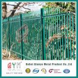 Cerco de aço galvanizado revestido PVC do Palisade da forma de aço do Palisade Fence/W