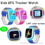 GPS het Volgende Horloge van de Veiligheid van de Jonge geitjes van het Apparaat met het kleurrijke Scherm 1.44 '' (Y9)