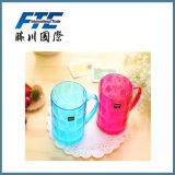 Neuer Entwurfs-bunte Cup-Plastiktrommel/Kind-Glas