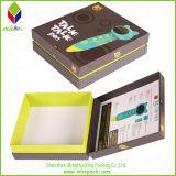 Dedo colorido del papel de embalaje caja rígida lector
