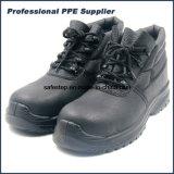 Altos zapatos de seguridad del aislante de la punta de Composit del corte con las hebillas plásticas