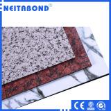 ACP de Material Marble Texture Aluminum Composite Panel de décoration pour Exterior Facade