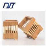 Cesta de bambú respetuosa del medio ambiente de los palillos del sostenedor de los palillos para los utensilios de cocina