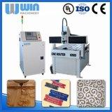 Machine de gravure en métal de commande numérique par ordinateur du constructeur Ww0615 de la Chine petite