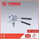 CuAlのラチェットのワイヤーカッター(XD-100A)