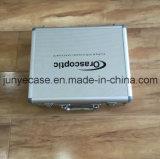 Caixa de moldura de liga de alumínio com inserção de espuma recortada