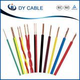 Cable aislado PVC de la energía eléctrica de BV/Bvr