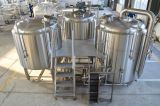 4bbl Micro- van de Apparatuur van het Bierbrouwen Brouwerij