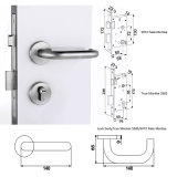 Alta qualità Stainless Steel Two-Piece Lockset per Passage