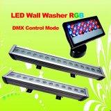 Свет 9W шайбы стены RGB СИД с DMX512 или DMX512A
