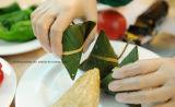 Alimento dei prodotti a gettare del vincitore della Cina che si mette in contatto con i guanti del PVC di alta qualità