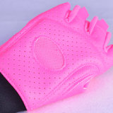 Half- перчатки пригодности перста с Lycra дальше подпирают для поднятия тяжестей
