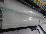 750mm*1500m*25um 청자 녹색 고속 포장기를 위한 불어진 사일로에 저항한 꼴 포장 필름