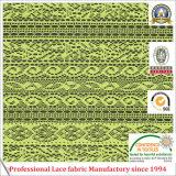 Tissu de lacet de polyester de mode de qualité