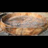Pool van de Steen van de zonsondergang de Rode voor Meubilair mpl-1007