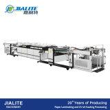 Máquina de vitrificação do petróleo UV automático de Msse-1200A para o papel fino e grosso