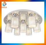 普及したLEDの天井ランプまたは水晶のシャンデリアランプ