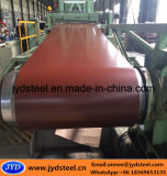 Aço galvanizado revestido cor na bobina