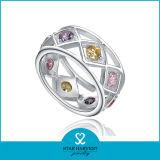 Uniek Bergkristal 925 Echte Zilveren Ring voor Vrije Steekproef (r-0189)