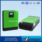 2kVA 24VDC (25A) 고주파 잘 고정된 통합 태양 변환장치