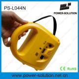 Lámpara solar recargable del LED con el cargador del teléfono móvil del USB
